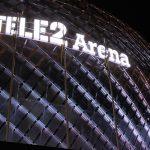 Tele2 Arena - perforerad plåt